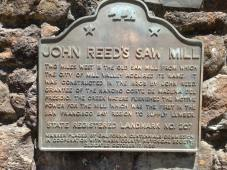 Historical marker, Mill Valley