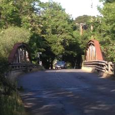 Bridge over Sonoma Creek