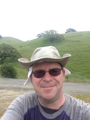 Rolling hills, west of Petaluma