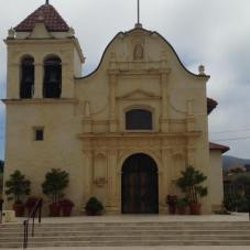 The Cathedral of San Carlos Borromeo, also known as the Royal Presidio Chapel, Monterey