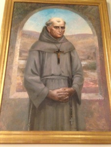 Image of Saint Junípero Serra, Immaculate Conception Catholic Church, San Diego