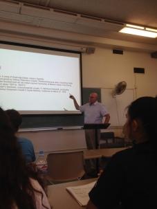 California History class, PLNU