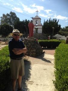Dr. Kottman at Mission San Antonio de Pala