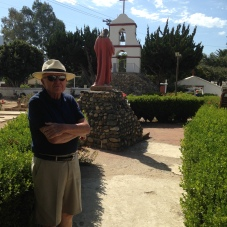 Dr. Kottman at Mission San Antonio de Pala