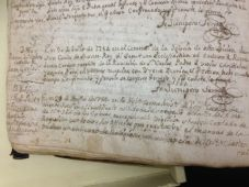 Death Registry including Saint Junípero Serra's last entry and own, recorded by his friend Fra Francisco Palóu