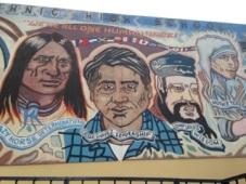 Mural, John H. Francis Polytechnic High School, Los Angeles
