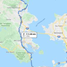 Novato to Dolores