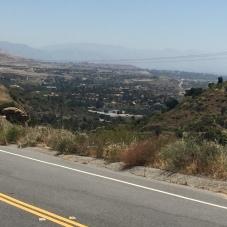 San Fernando Valley from Santa Susana Pass Road